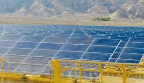 Solenergi, Negev